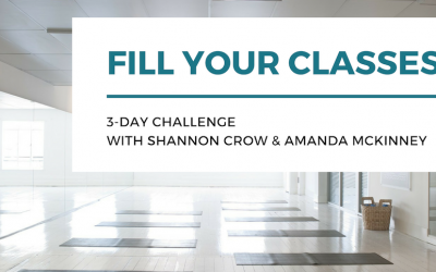 Fill Your Classes 3-Day Challenge